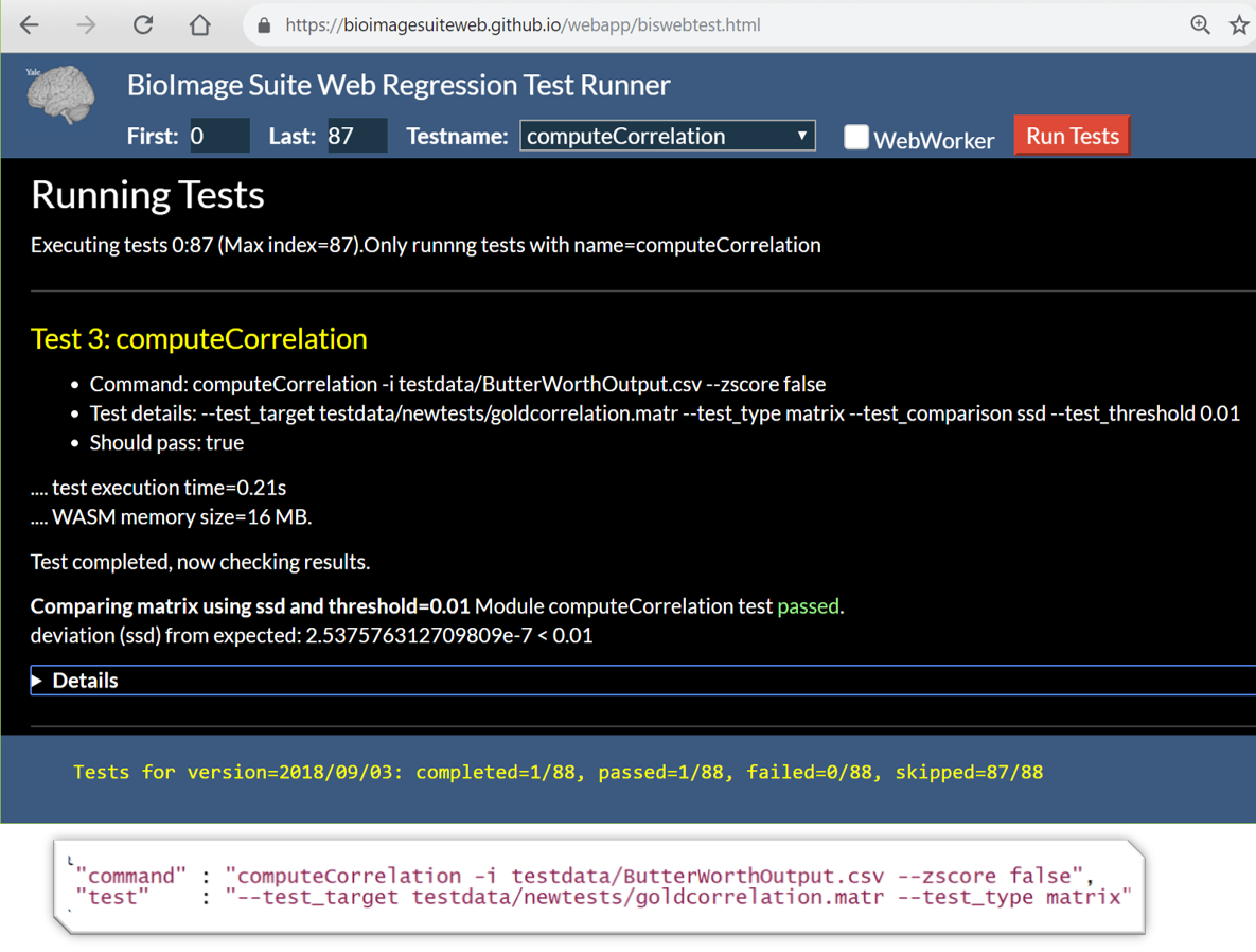 Web-based Regression Testing